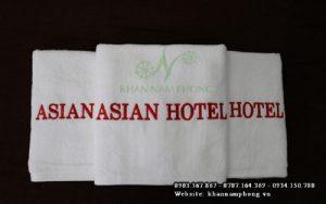 Độ thoát khí của khăn tắm khách sạn Cotton