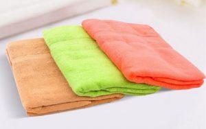 Những màu sắc các loại chất liệu khăn tay Spa