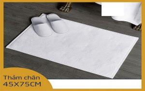 Kích thước và trọng lượng của thảm chân khách sạn