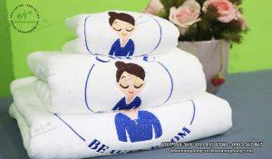 Mẫu khăn trải giường Chuu Beauty Room (Trắng-Microfiber)