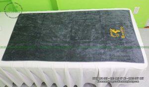 Mẫu khăn body Bonita Spa (Xám - Cotton)