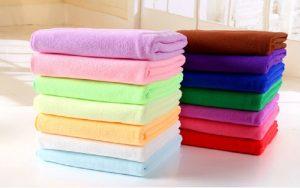 Màu sắc của khăn tắm khách sạn