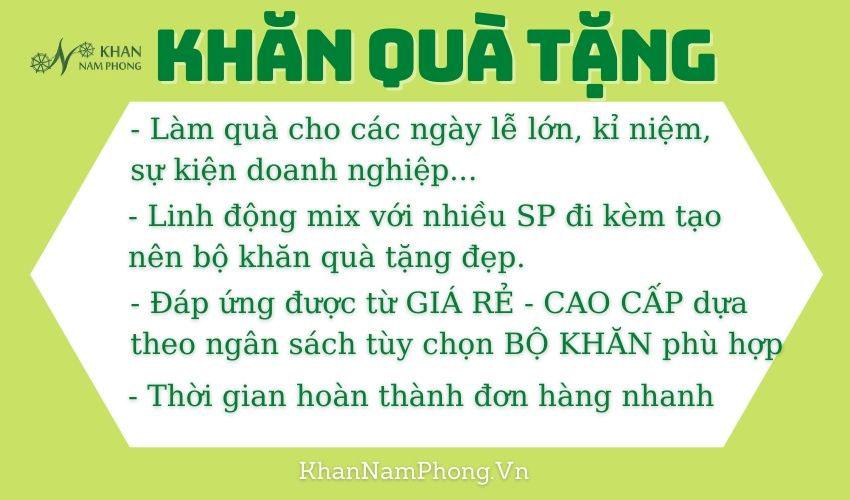 khăn quà tặng Nam Phong